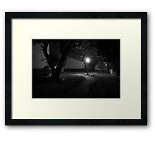 The Light of Darkness Framed Print