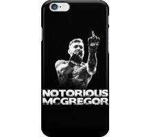 Notorious McGregor iPhone Case/Skin