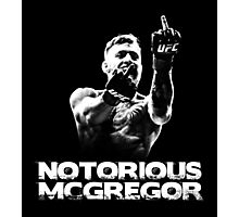 Notorious McGregor Photographic Print