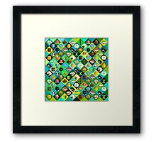 Mario Collage Framed Print