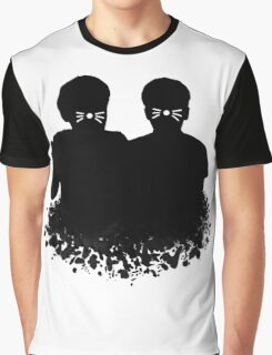 Dan & Phil | Whiskers on a cloud Graphic T-Shirt