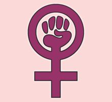 Women's Power / Feminist Symbol 2 Kids Tee