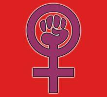 Women's Power / Feminist Symbol 2 Baby Tee
