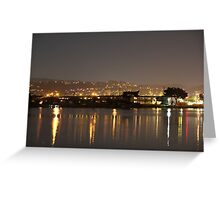 Lights of the Night Greeting Card