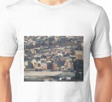Aerial View, Hoboken, New Jersey, One World Observatory, World Trade Center Observation Deck, Lower Manhattan, New York City Unisex T-Shirt
