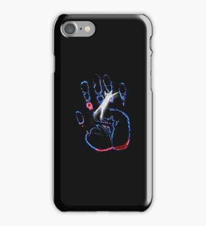 X files hand iPhone Case/Skin