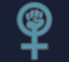 Women's Power / Feminist Symbol Baby Tee