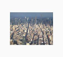 Aerial View, Midtown Manhattan, One World Observatory, World Trade Center Observation Deck, Lower Manhattan, New York City Unisex T-Shirt