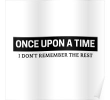 Once Upon A Time Poster