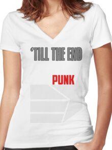 Steve Rogers Matching Shirt  Women's Fitted V-Neck T-Shirt