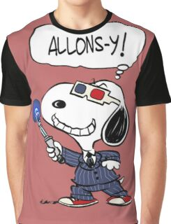 Snoopy Doctor Who Graphic T-Shirt