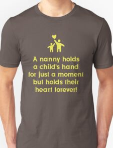Nanny Holds A Child's Hand T-Shirt