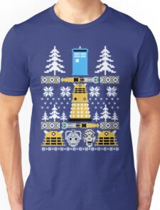 Doctor Who Police Box Ugly Unisex T-Shirt