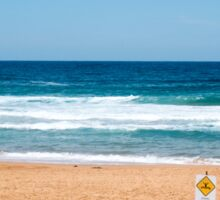 Bilgola Beach Sydney Australia Sticker