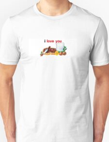 Nutella I Love You Unisex T-Shirt