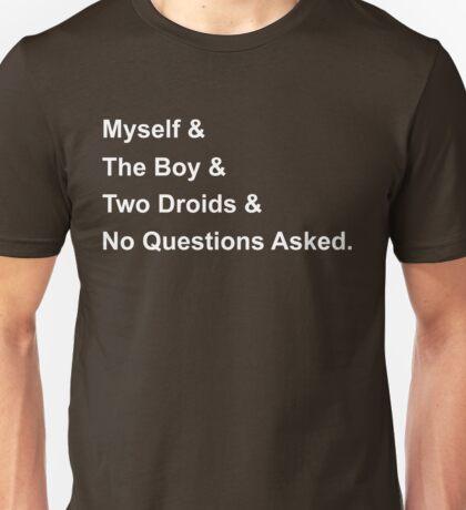 A New Hope - Helvetica Unisex T-Shirt
