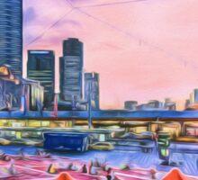 City Sunset II (GO3) Sticker