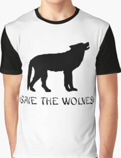 Save the Wolves Graphic T-Shirt