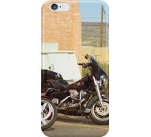 Route 66 - Grants, New Mexico Motorcycles iPhone Case/Skin