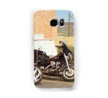 Route 66 - Grants, New Mexico Motorcycles Samsung Galaxy Case/Skin