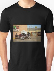 Route 66 - Grants, New Mexico Motorcycles T-Shirt