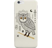 Hypno Owl iPhone Case/Skin