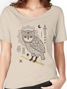 Hypno Owl Women's Relaxed Fit T-Shirt