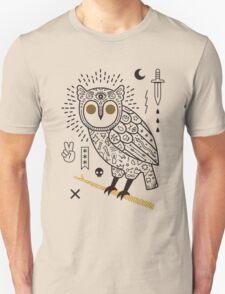 Hypno Owl Unisex T-Shirt