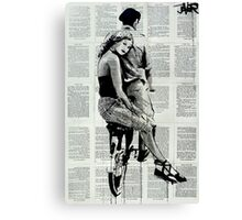 the hitchhiker Canvas Print