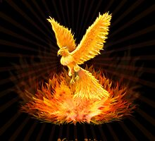 Phoenix Rising by VisionQuestArts