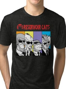 Reservoir Cats Tri-blend T-Shirt