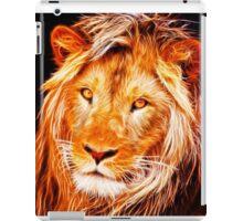 The Fire King - Lion Fractal iPad Case/Skin
