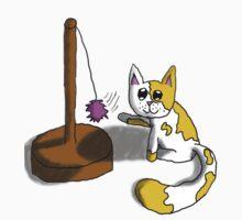 Playful Kitty One Piece - Long Sleeve