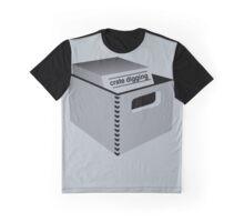 Crate Digging (dark) Graphic T-Shirt