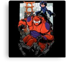 Baymax Hero Canvas Print
