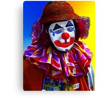Sad Clown Canvas Print