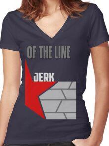 Bucky Barnes Matching Shirt  Women's Fitted V-Neck T-Shirt