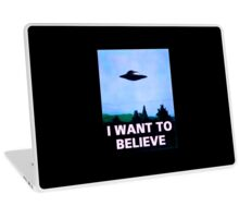 I WANT TO BELIEVE Laptop Skin