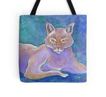 Sherlock, an Inquisitive Cat Tote Bag