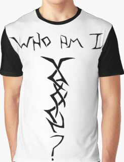 Who Am I - Mystery Woman Tatoo Graphic T-Shirt