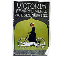 Vintage poster - Victoria Bicycles Poster