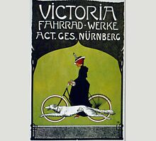 Vintage poster - Victoria Bicycles Unisex T-Shirt
