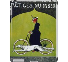 Vintage poster - Victoria Bicycles iPad Case/Skin