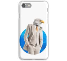 Sir Eagle iPhone Case/Skin