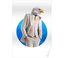 Sir Eagle Poster