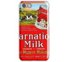Vintage poster - Carnation Milk iPhone Case/Skin