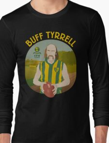 Buff Tyrrell (Woodville) - yellow type Long Sleeve T-Shirt