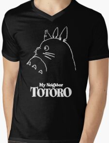 My Neighbor Totoro Studio Ghibli Mens V-Neck T-Shirt
