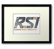 Robert Space Industries Framed Print