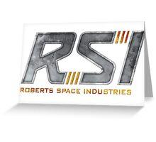 Robert Space Industries Greeting Card